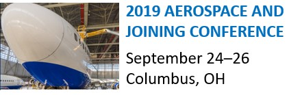 2019 AEROSPACE JOINING CONFERENCE