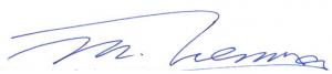 President sign